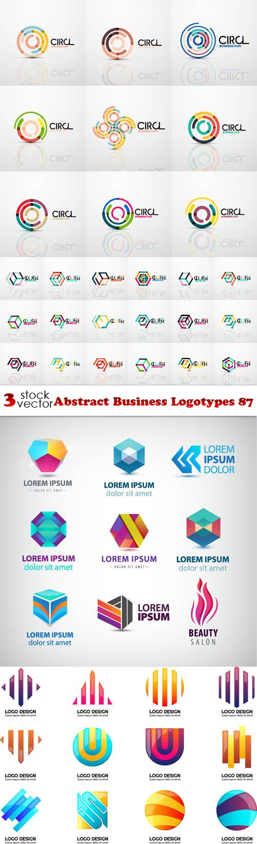 Vectors - Abstract Business Logotypes 87