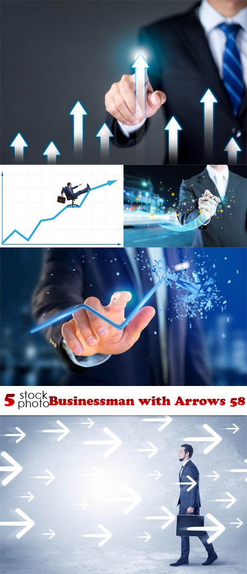 Photos - Businessman with Arrows 58