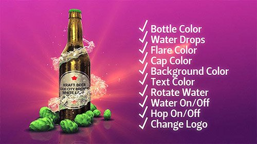 Beer Kit - Project for After Effects (Videohive)