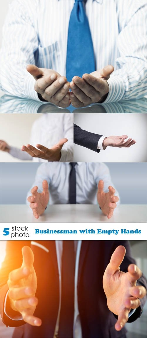 Photos - Businessman with Empty Hands