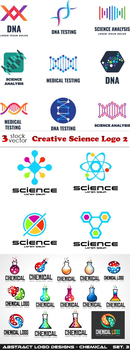 Vectors - Creative Science Logo 2