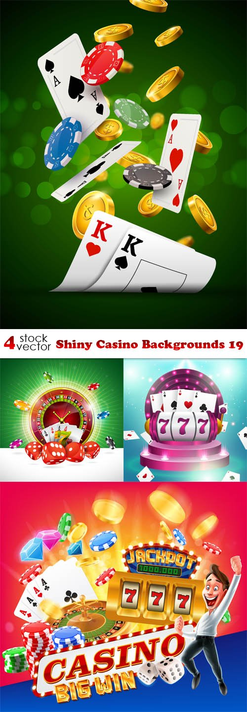 Vectors - Shiny Casino Backgrounds 19