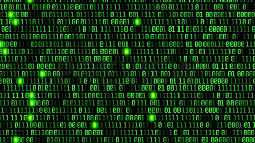MA - Binary Code Abstract Background 77718