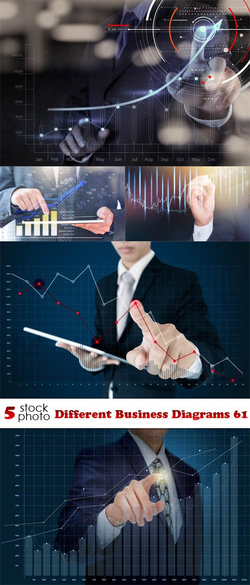 Photos - Different Business Diagrams 61