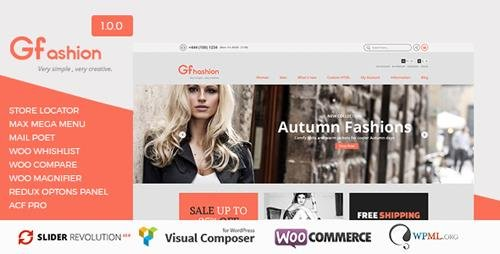 ThemeForest - GFashion v1.0 - Woocommerce Store - 14956636