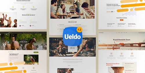 ThemeForest - Ueldo v1.2.7 - Responsive Multi-Purpose WordPress theme - 21307912