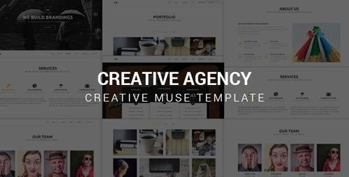 ThemeForest - Creative Agency v1.0 - Muse Template - 21579884