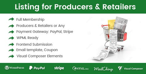 CodeCanyon - Directory Listing for Producers & Retailers v1.0.7 - 20037795