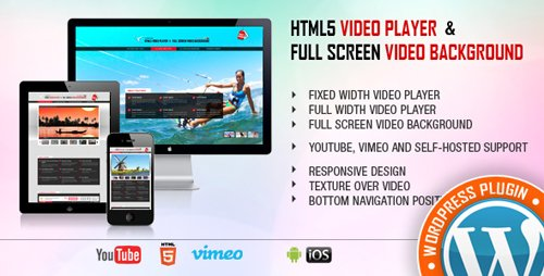 CodeCanyon - Video Player & FullScreen Video Background - WP Plugin v1.8.4 - 9323381