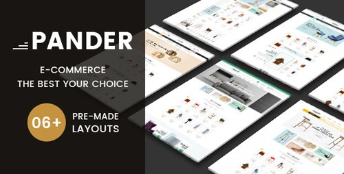 ThemeForest - Pander v1.0 - Furniture Responsive OpenCart Theme - 21839910