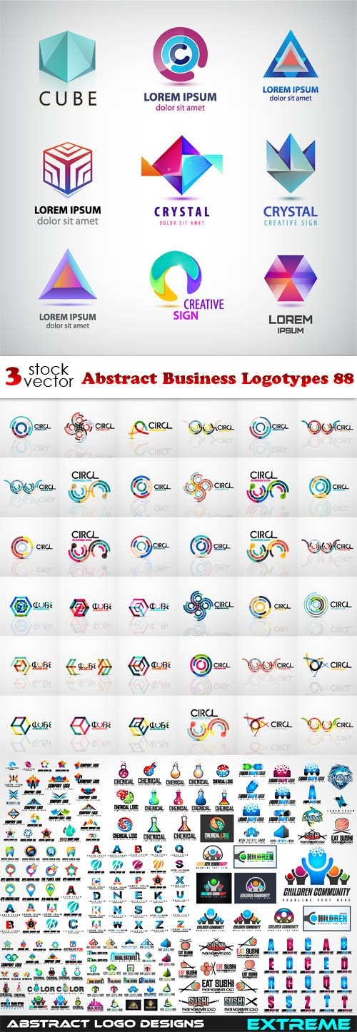 Vectors - Abstract Business Logotypes 88