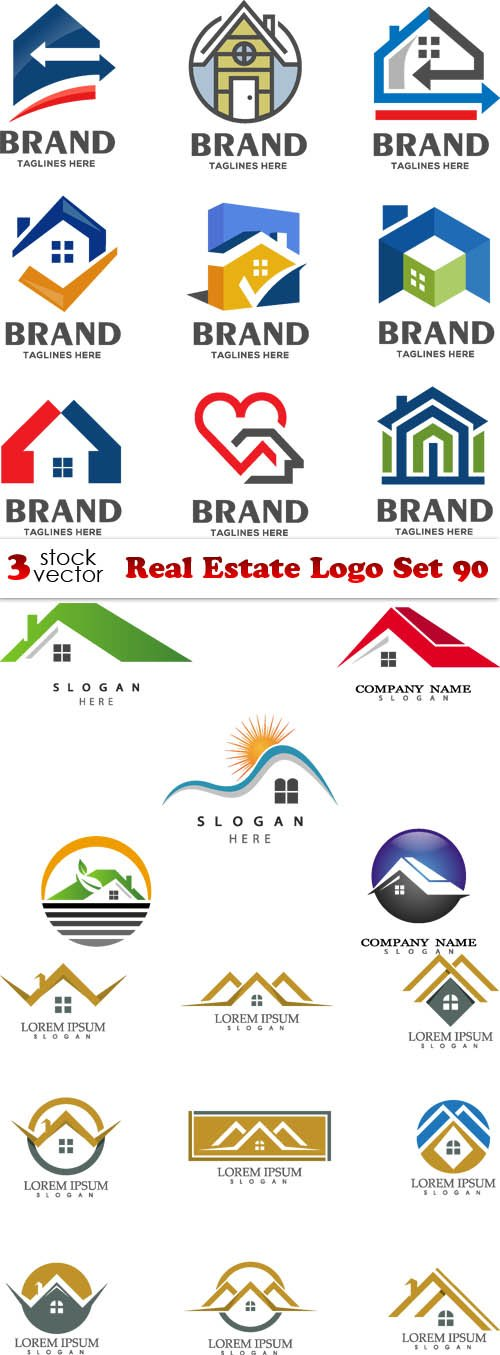 Vectors - Real Estate Logo Set 90