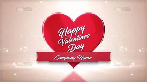 Logo Valentines - After Effects Template