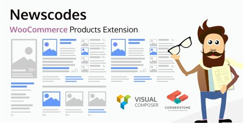 CodeCanyon - Newscodes - WooCommerce Products Extension v1.1.0 - 18828513