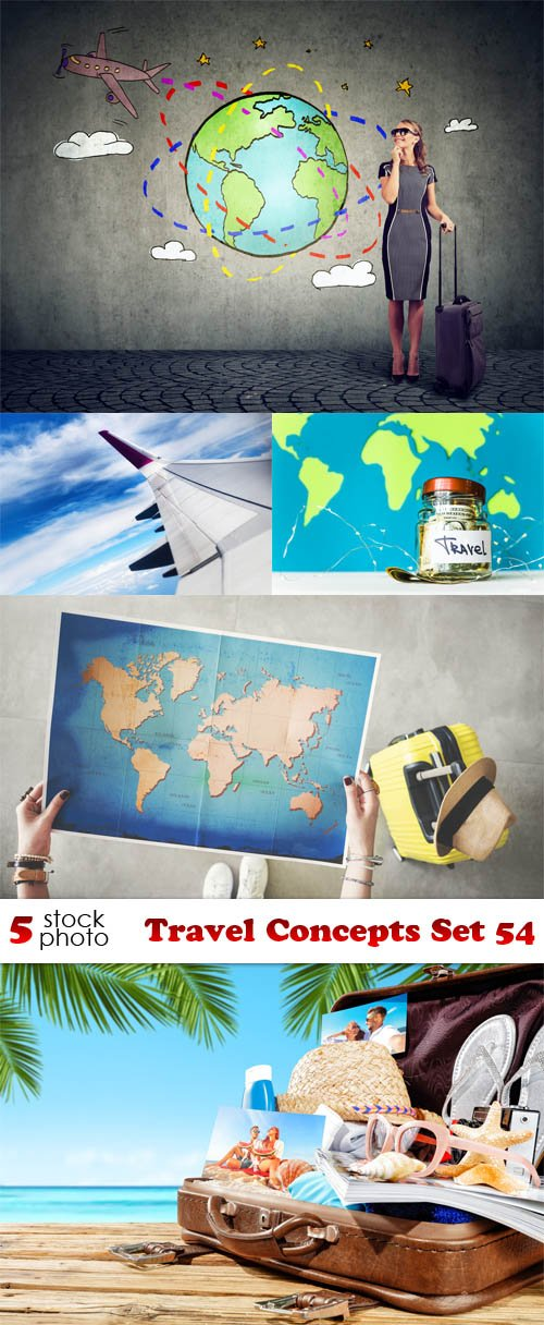 Photos - Travel Concepts Set 54