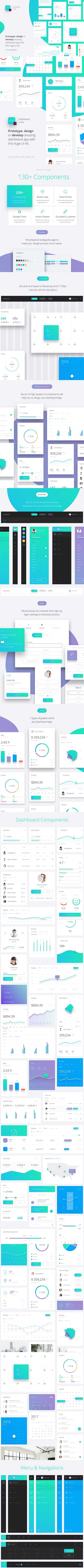 Datta - Dashboard UI Kit for Xd