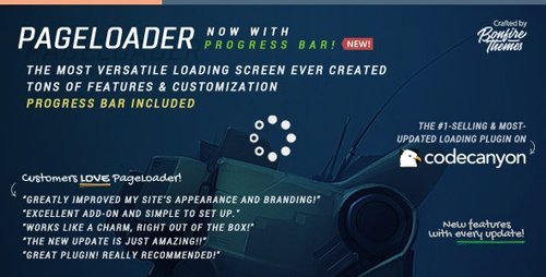 CodeCanyon - PageLoader v3.2 - Loading Screen and Progress Bar for WordPress - 6594364