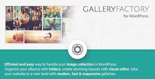CodeCanyon - Gallery Factory v2.1.1 - 11219294