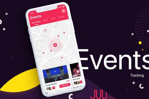 Event Tracking UI Inspiration Template
