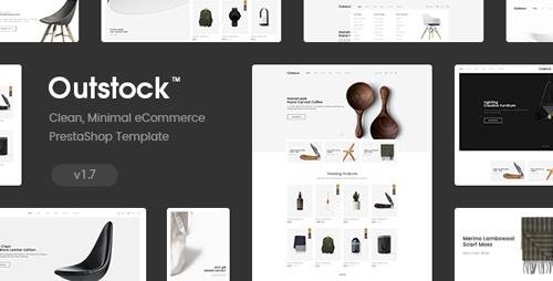 ThemeForest - Outstock v1.0 - Responsive Prestashop 1.7 Theme - 21811842