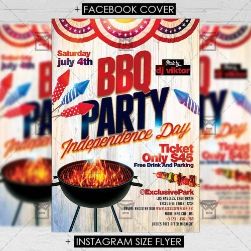 Premium A5 Flyer Template - Independence Day Celebration