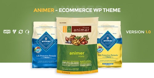 ThemeForest - Animer v1.0.3 - Simple AJAX Woocommerce Theme - 14496491