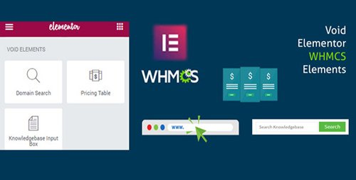 CodeCanyon - Elementor WHMCS Elements Pro For Elementor Page Builder v2.0.0 - 21136898