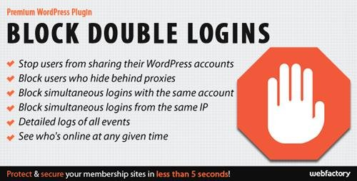 CodeCanyon - Block Double Logins v1.1 - Protect Your Membership Site - 7766127