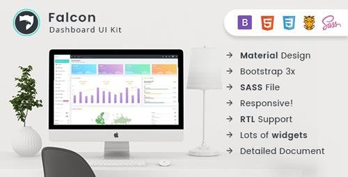 ThemeForest - Falcon v1.0 - Bootstrap Admin Dashboard Template + UI Kit - 20999984