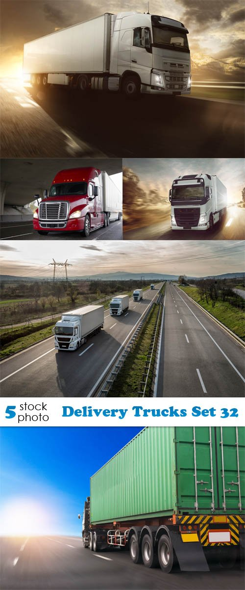 Photos - Delivery Trucks Set 32