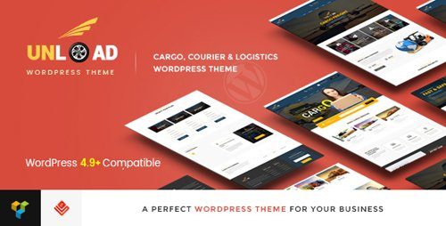 ThemeForest - Unload v1.5.2 - Cargo, Shipping, Logistics, Trucking, Warehouse & Transport WordPress Theme - 16815477