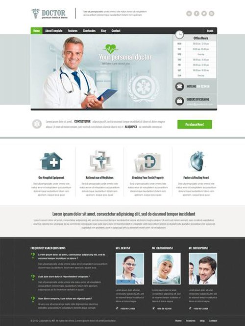 Ait-Themes - Doctor v1.34 - Medical WordPress Theme