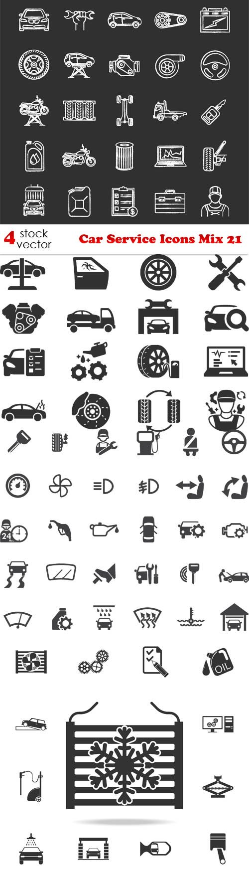 Vectors - Car Service Icons Mix 21