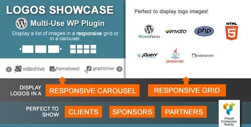 CodeCanyon - Logos Showcase v2.0 - Multi-Use Responsive WP Plugin - 4322745