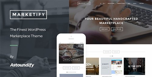 ThemeForest - Marketify v2.15.0 - Digital Marketplace WordPress Theme - 6570786