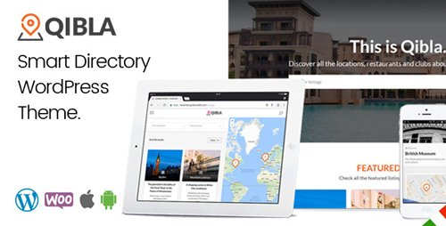 ThemeForest - Qibla v2.3.0 - WordPress Listing Directory Theme - 19295732