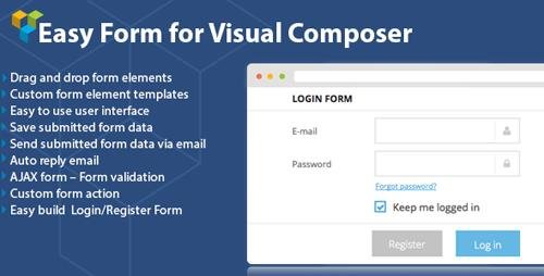 CodeCanyon - DHVC Form v2.1.7 - Wordpress Form for Visual Composer - 8326593