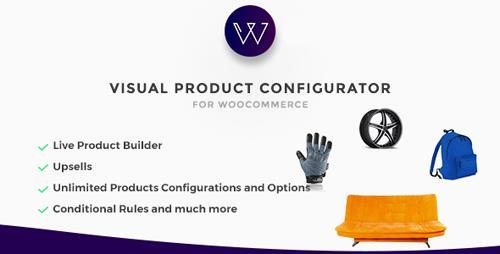 CodeCanyon - Woocommerce Visual Products Configurator v5.3 - Customize and Configure any Product Visually - 9058551