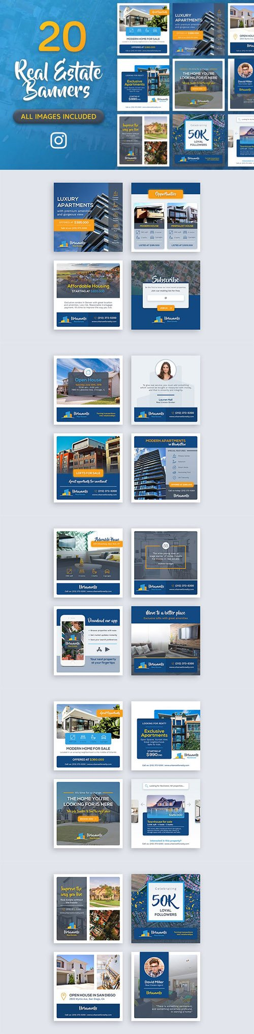 20 Real Estate Banners 2018