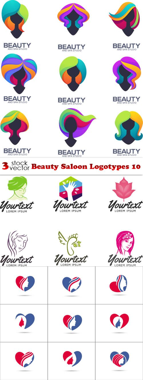 Vectors - Beauty Saloon Logotypes 10