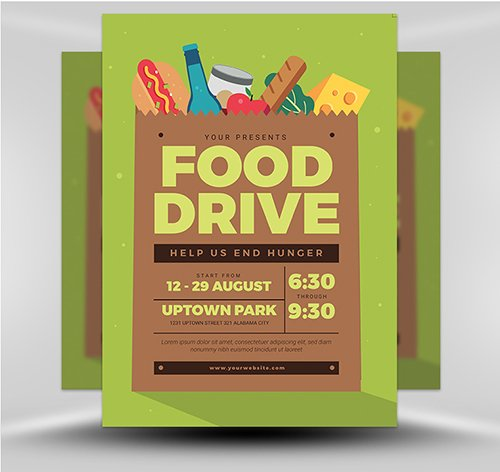 PSD Food Drive Event