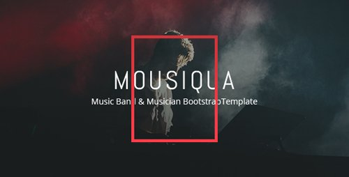 ThemeForest - Mousiqua v1.0 - Music Band and Musician Template - 21699925