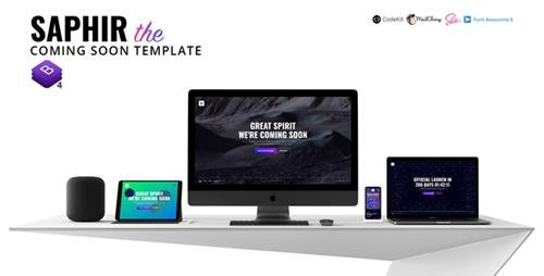 ThemeForest - SAPHIR v1.0 - The Coming Soon Template - 21876373