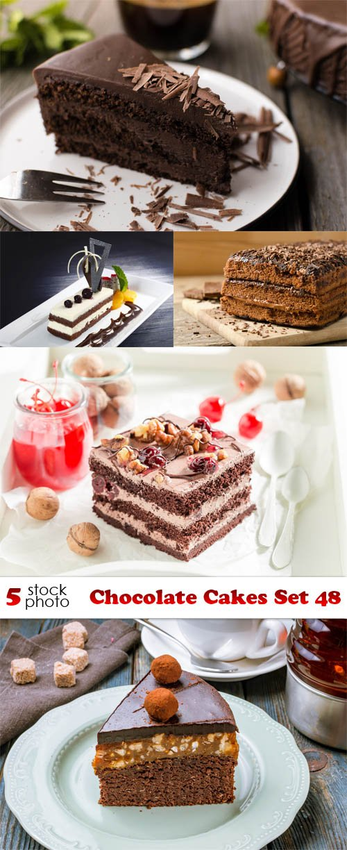 Photos - Chocolate Cakes Set 48