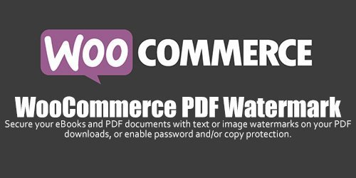 WooCommerce - PDF Watermark v1.1.4