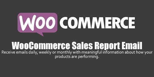 WooCommerce - Sales Report Email v1.1.4