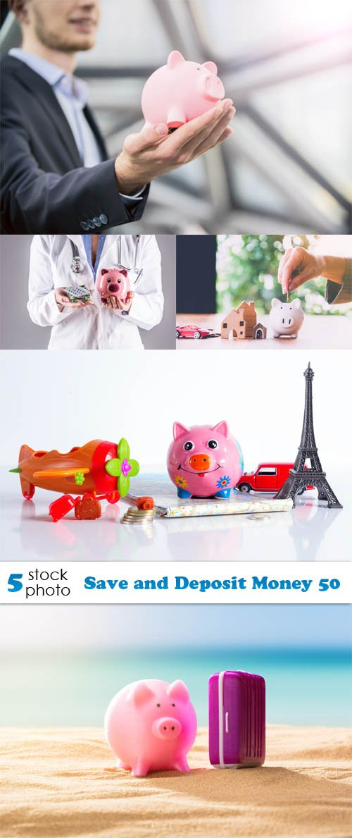 Photos - Save and Deposit Money 50