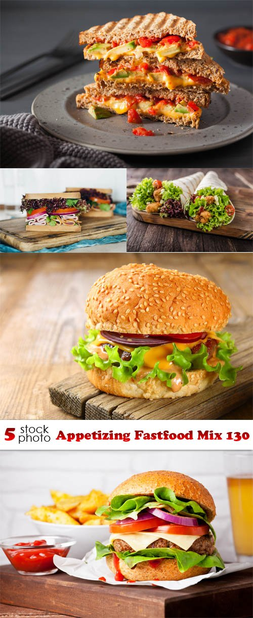 Photos - Appetizing Fastfood Mix 130