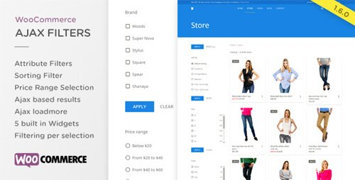 CodeCanyon - WooCommerce Ajax Product Filters v1.6.0 - 14512191