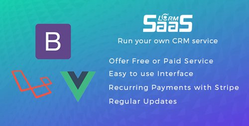 CodeCanyon - LCRM SAAS v1.0.5 - Run your own SAAS CRM - 21392671